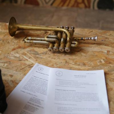 MERCREDI 23 AOÛT Concert : orgue et trompette Orgue, Christophe Guida Trompette, François Fremeau (Marseille)