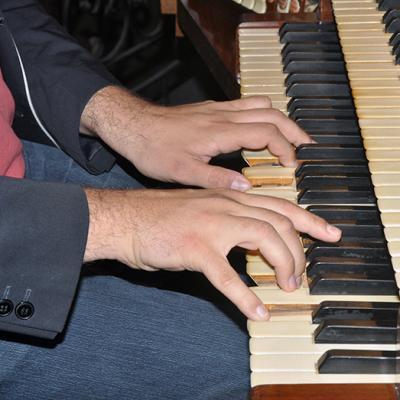 1er JUIN 2014 Paolo Oreni, organiste, concertiste (Milan, Italie)