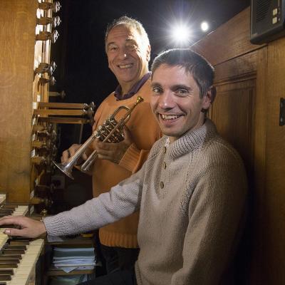 Enregistrement CD orgue et trompette