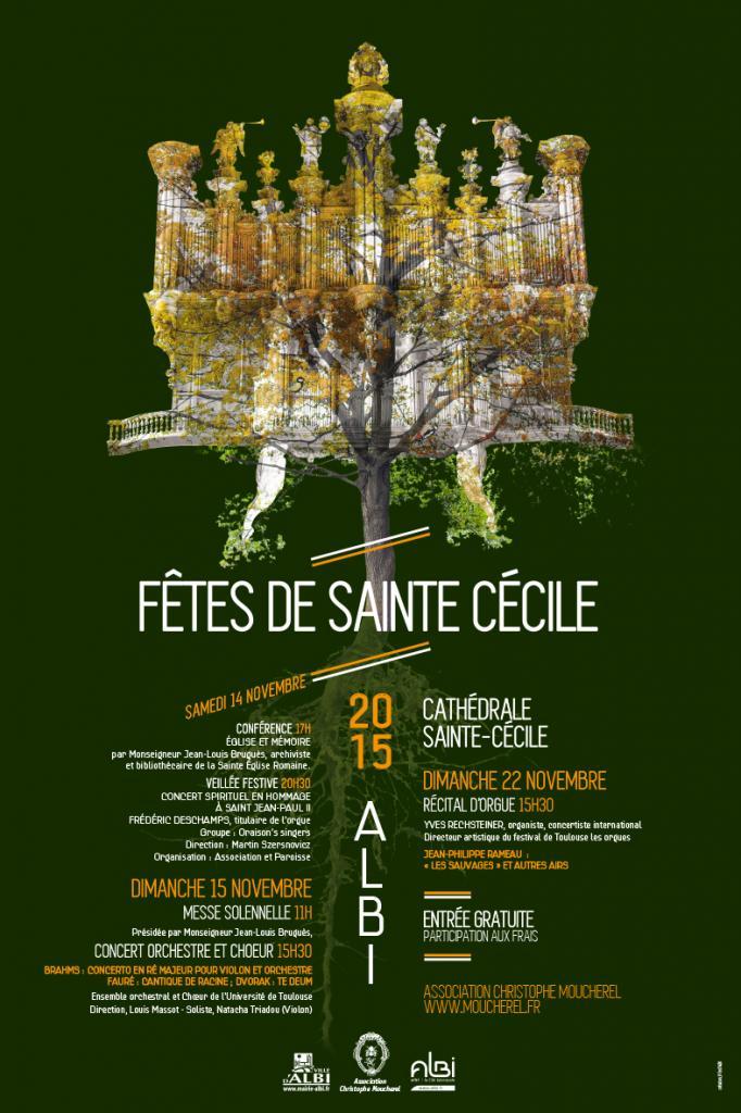Fête de Sainte Cécile 2015