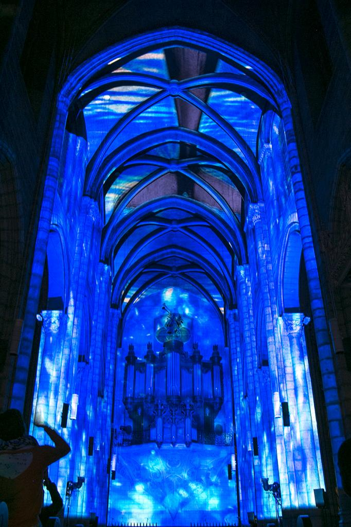 inTEMPOréel : blue session. 4 juin 2016, collégiale Saint-Salvi, Albi